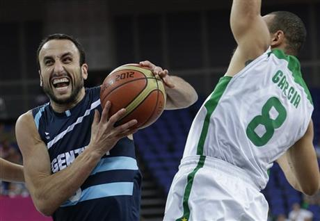 Manu Ginobili, Alex Garcia