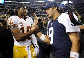 Robert Griffin III, Tony Romo