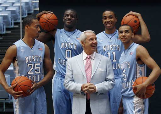 Roy Williams, J.P. Tokoto, Joel James, Brice Johnson, Marcus Paige