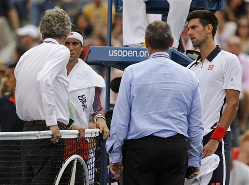 David Ferrer, Novak Djokovic