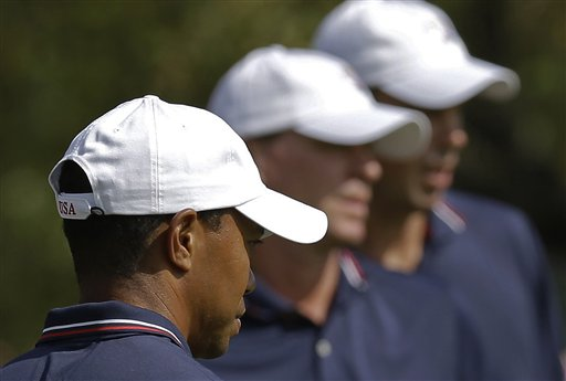 Tiger Woods, Steve Stricker, Matt Kuchar