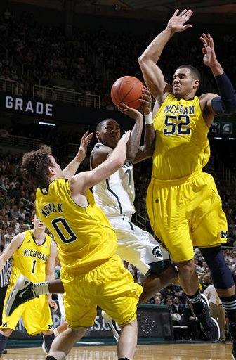 Keith Appling, Zach Novak, Jordan Morgan
