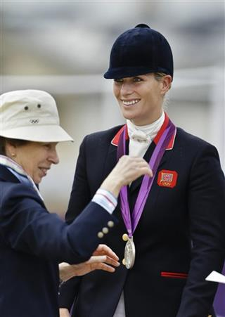 Zara Phillips, Princess Anne