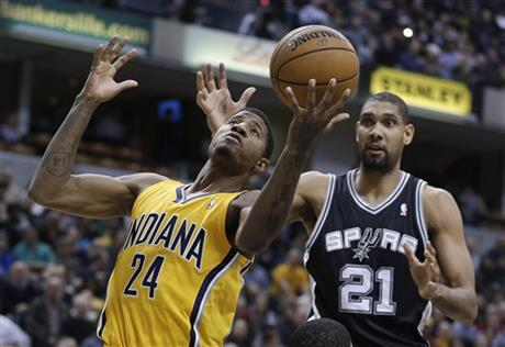 Paul George, Tim Duncan