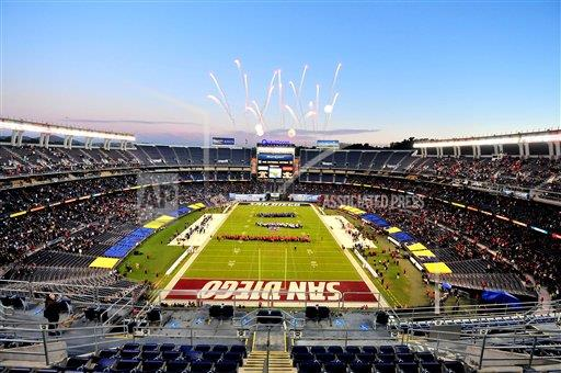 Nfl Stadiums San Diego Chargers Buy Photos Ap Images
