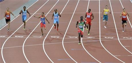 London Olympics Athletics