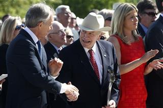 Tony Blair, Dick Cheney, Jenna Bush Hager