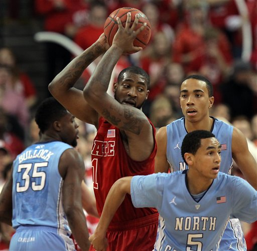 Richard Howell, Reggie Bullock, Marcus Paige, Brice Johnson