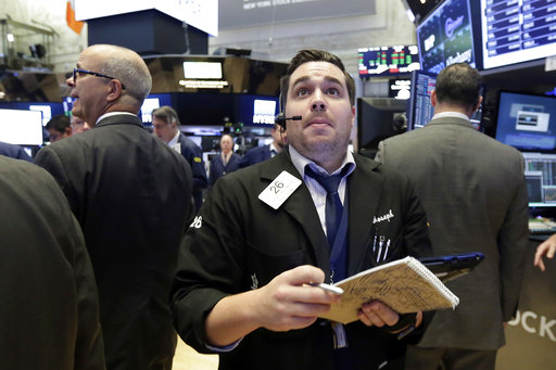 Banks and tech stocks send Dow industrials closer to 22 ...