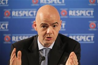 Soccer FIFA Election Infantino