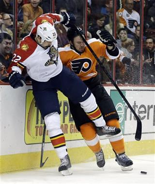 Nicklas Grossmann, George Parros