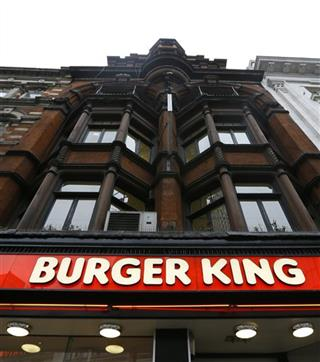 Britain Horsemeat Burger King