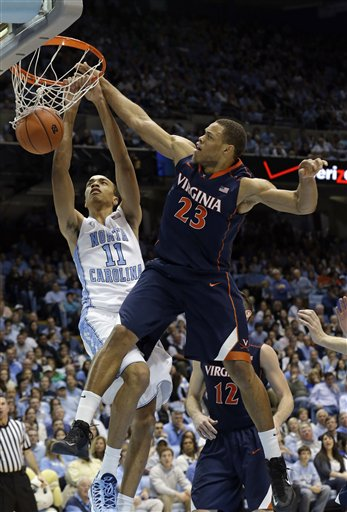Brice Johnson, Justin Anderson