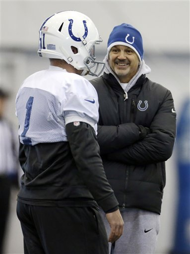 Chuck Pagano, Pat McAfee