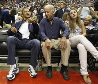 Barack Obama, Joe Biden, Naomi Biden