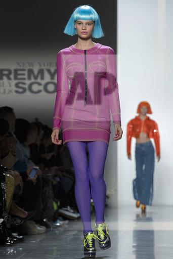 NY Fashion Week Jeremy Scott