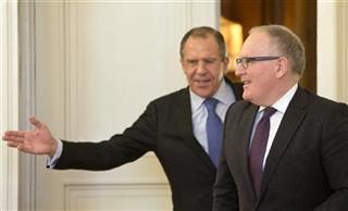 Sergey Lavrov, Frans Timmermans