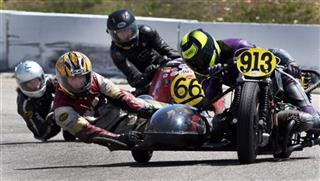 Loudon Classic Side Car Racing