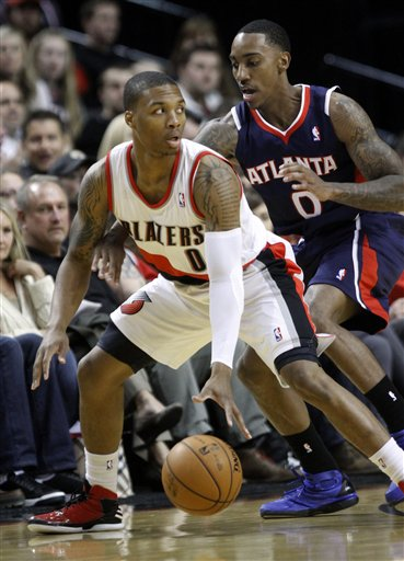 Jeff Teague, Damian Lillard