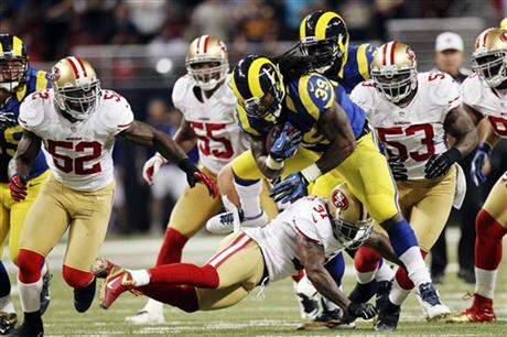 49ers Rams Football