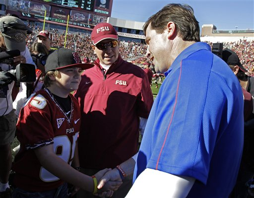 Trey Fisher, Jimbo Fisher, Will Muschamp
