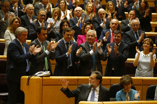 the latest opposition walks out of catalan parliament
