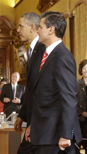 Barack Obama, Enrique Pena
