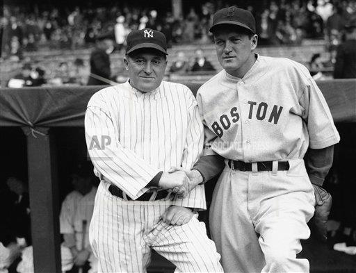 Watchf Associated Press Sports Professional Baseball (American League) New York United States APHS178456 Yankees Red Sox 1935