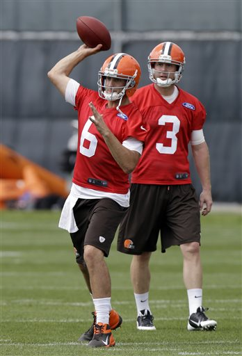 Brian Hoyer, Brandon Weeden