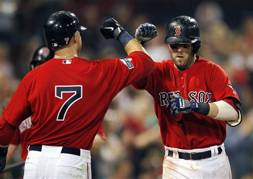 Dustin Pedroia, Cody Ross