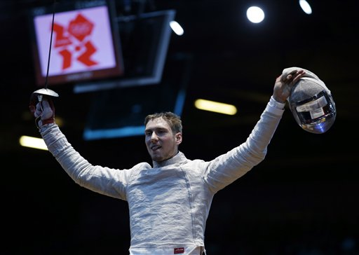 London Olympics Mens Fencing