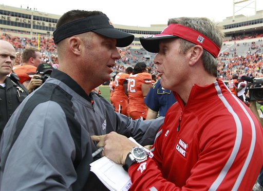 Mike Gundy, Mark Hudspeth