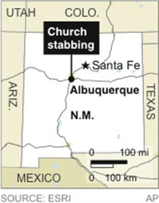 NM CHURCH STABBING