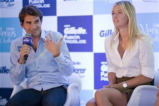 Maria Sharapova, Roger Federer
