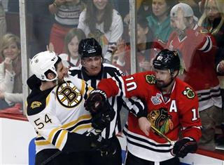 Adam McQuaid, Patrick Sharp