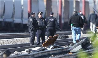 Train Derails Pennsylvania