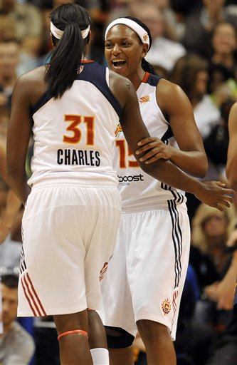 Asjha Jones, Tina Charles