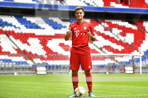 Official performance Philippe COUTINHO (Bayern Munich).