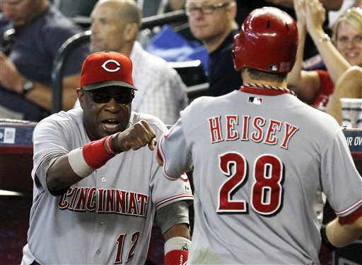 Dusty Baker, Chris Heisey