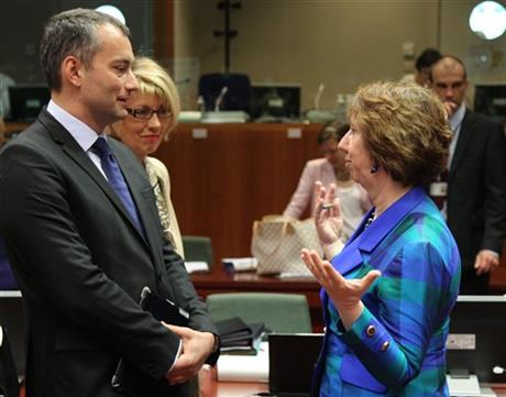 Catherine Ashton, Nikolay Mladenov