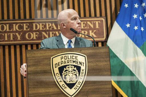 NY: NYC Police Commissioner James O'Neil announces firing of Officer Daniel Pantaleo