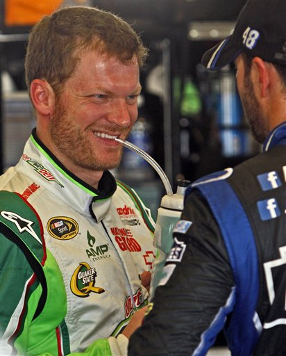 Dale Earnhardt, Jr., Jimmie Johnson