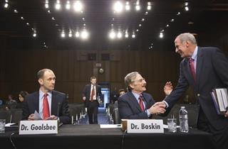 Austan Goolsbee, Michael Boskin, Dan Coats