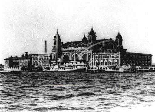 Associated Press Domestic News ELLIS ISLAND