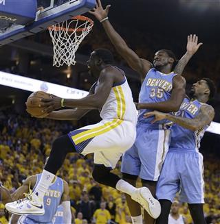 Draymond Green, Kenneth Faried, Wilson Chandler