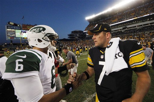 Mark Sanchez,  Ben Roethlisberger