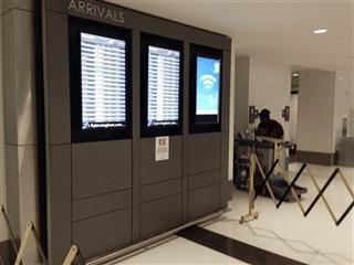 Airport Monitors Fall