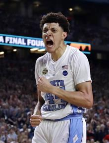 APTOPIX Final Four Gonzaga North Carolina Basketball