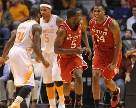 NC State Tennessee Basketball