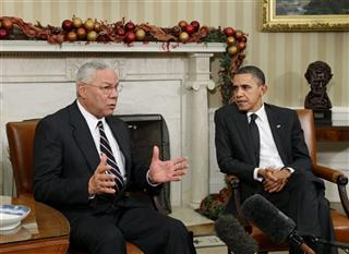 Barack Obama, Colin Powell